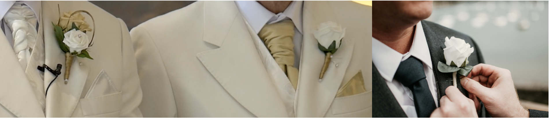 Silk Buttonholes The Floral Touch UK
