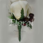 Groom/GroomsmenEternity Rose & Berry Buttonhole