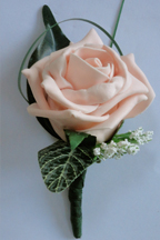 Blush Rose Buttonhole