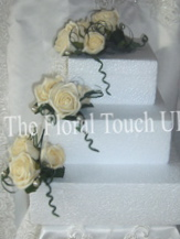 Rose cake Toppers - Tier Displays