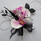 Pink Orchid Mother of the Bride Corsage