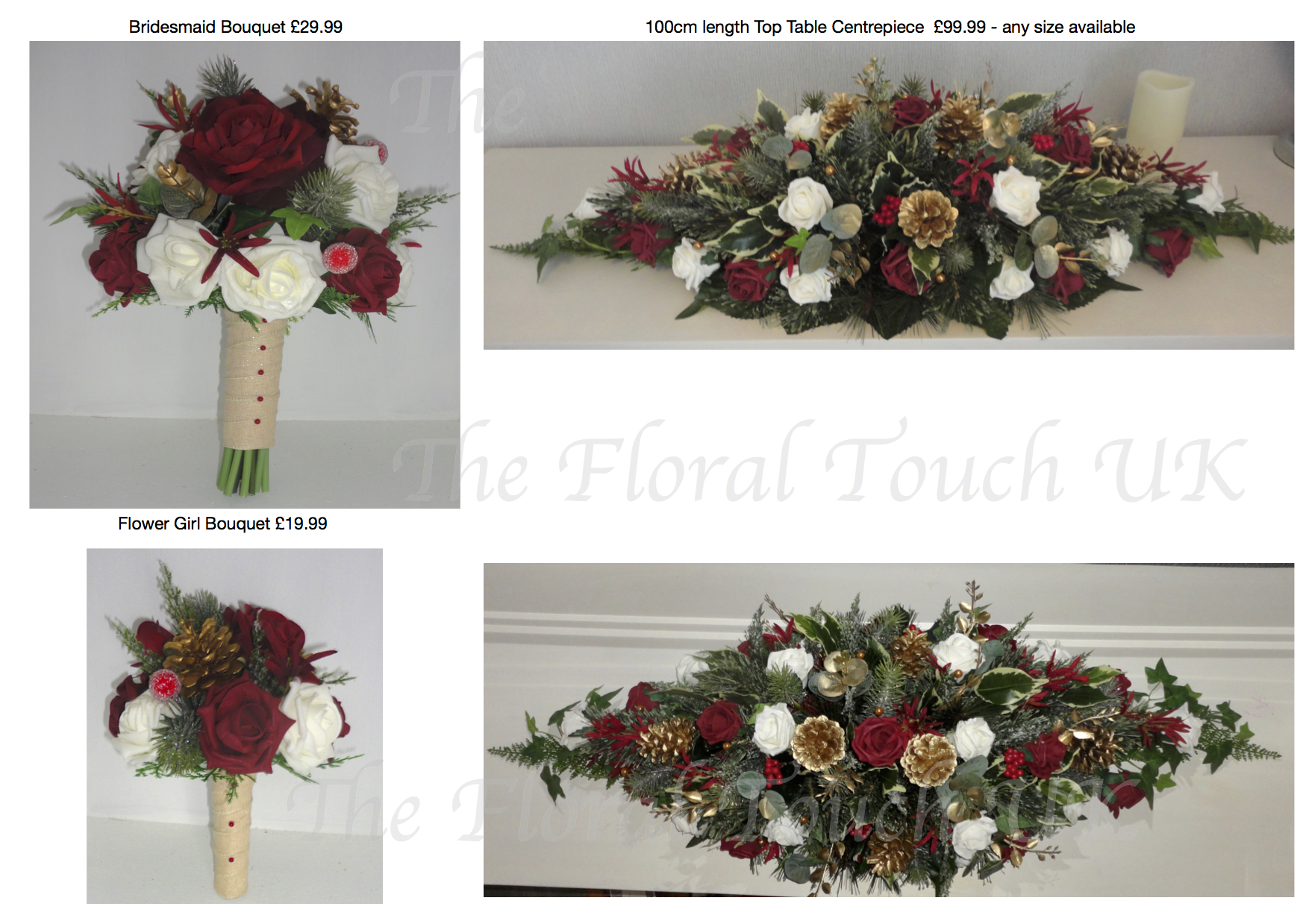 Christmas winter wedding bouquets you may also like matching christmas wreath centrepiece dusky pink cream bridal bouquet junglespirit Choice Image