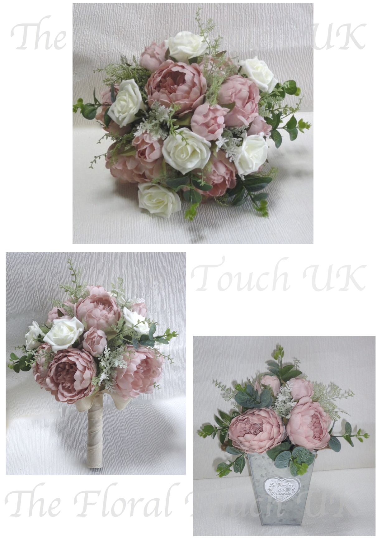 Silk Wedding Bouquets The Floral Touch Uk South Yorkshire
