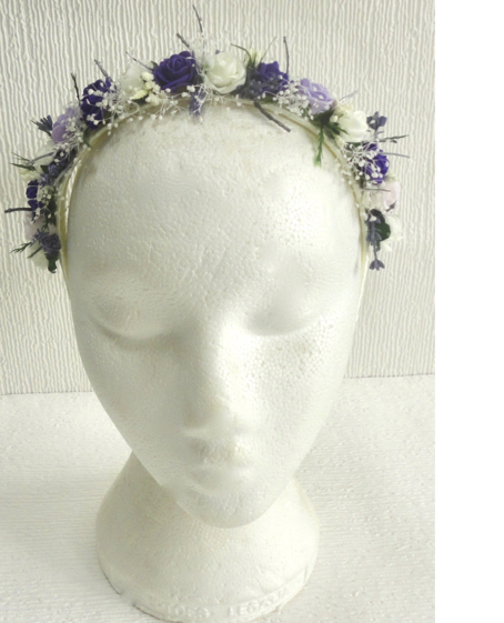 Bridesmaid Country Woodland Headdress Alice Band