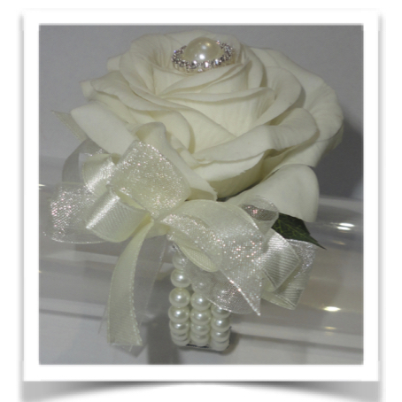 Fresh Touch Rose Wrist Corsage