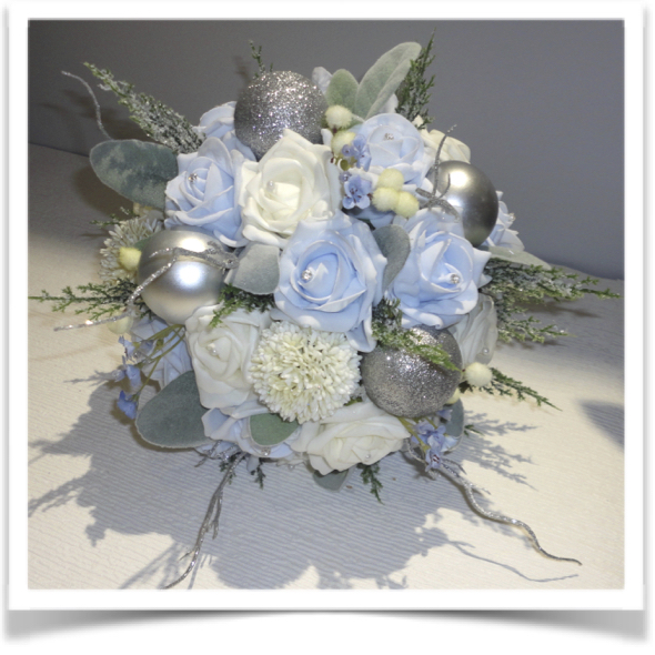christmas winter wedding bouquets. Black Bedroom Furniture Sets. Home Design Ideas