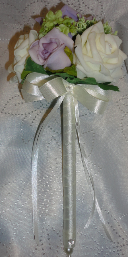 Wands For Flower Girls Floral Wands The Floral Touch Uk