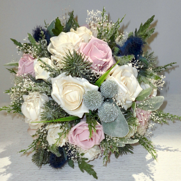 Silk Wedding Bouquets Flowers The Fl Touch Uk