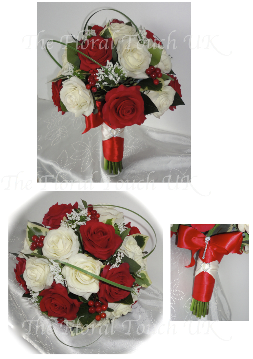 All About Silk Wedding Bouquets The Floral Touch Uk South Yorkshire