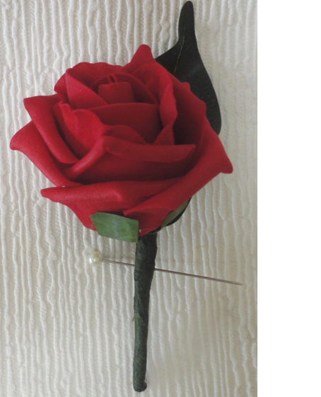 Cheap Rose Buttonhole