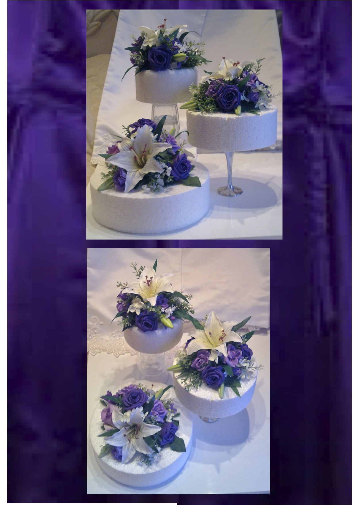 Lily Rose Cake Design : Cake Toppers The Floral Touch UK Cake Tier Displays