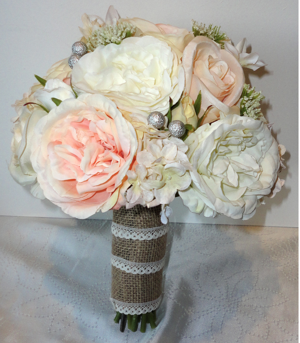 Vintage Floral Wedding Bouquets : Silk wedding bouquets the floral touch uk south yorkshire