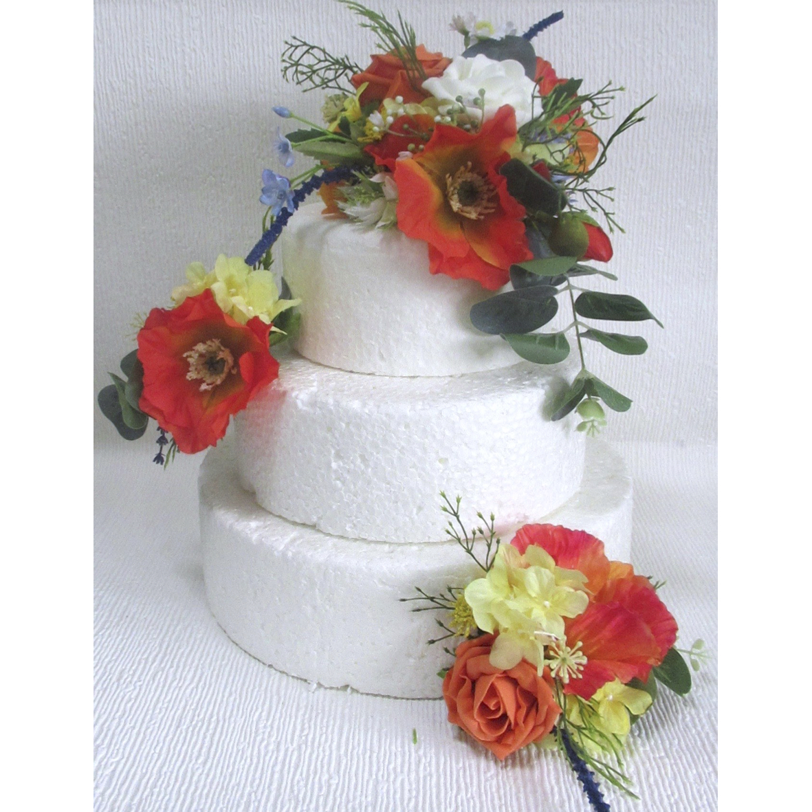 Wild flower cake topper and side sprays -