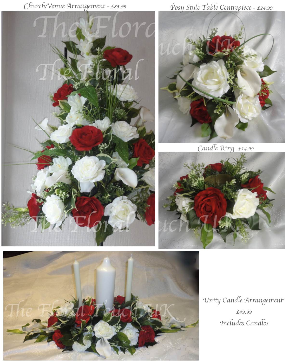 Top Table Arrangements Top Table Centrepiece Church Flowers