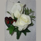 Groom Ivory Silk Eternity Rose Buttonhole
