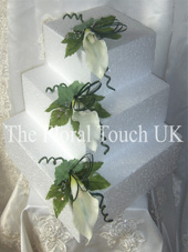 Calla Lily Cake Tier Displays