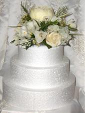 Peony, Freesia & Rose Cake Topper