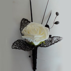 Designer Single Rose Corsage/Buttonhole