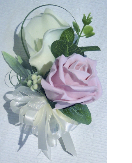 Rose & Real Touch Calla Lily Corsage