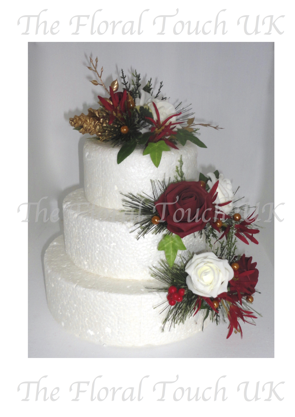 Silk flower arrangements for cakes flowers healthy wedding cake flowers mightylinksfo