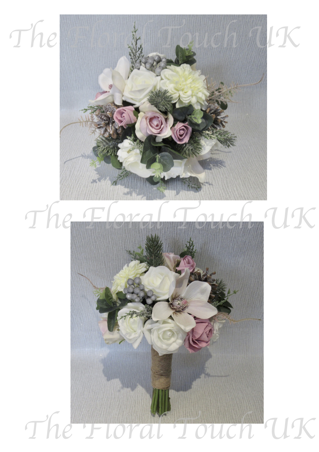 Christmas Wedding Bouquets Uk.Christmas Winter Wedding Bouquets