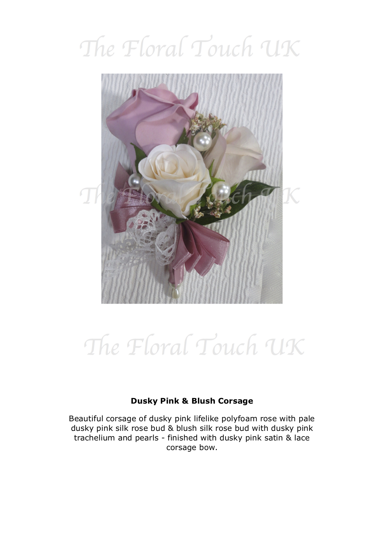 Pin On Corsage For Weddings Silk Corsage The Floral Touch Uk