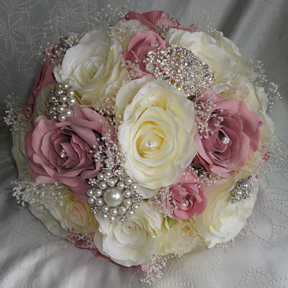 Silk wedding bouquets silk wedding flowers yorkshire florist silk wedding bouquets page 2 mightylinksfo