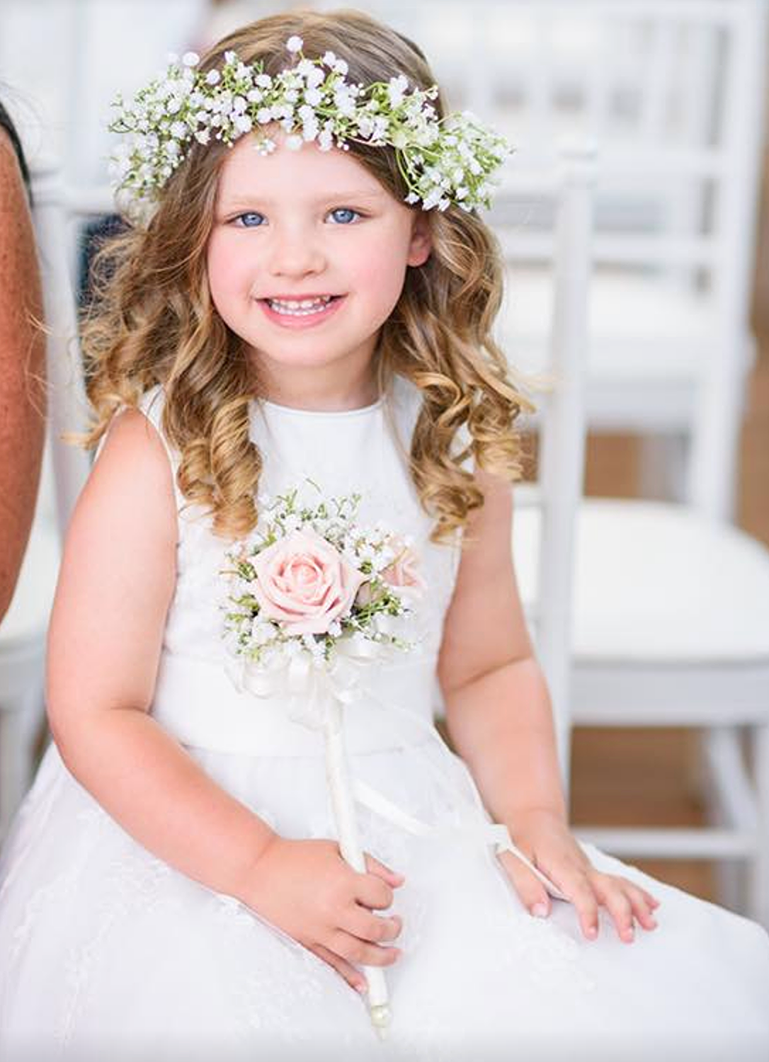 96226ed1c Wands For Flower Girls | Floral Wands | The Floral Touch UK