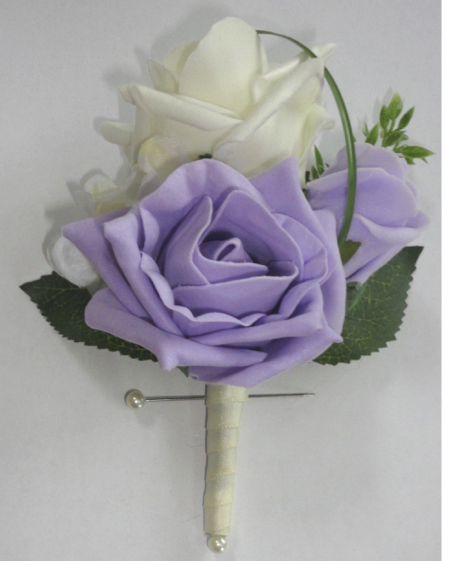 Silk Buttonholes Buttonaires For Weddings The Floral Touch Uk