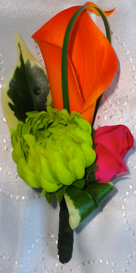 Tropical Style Buttonhole