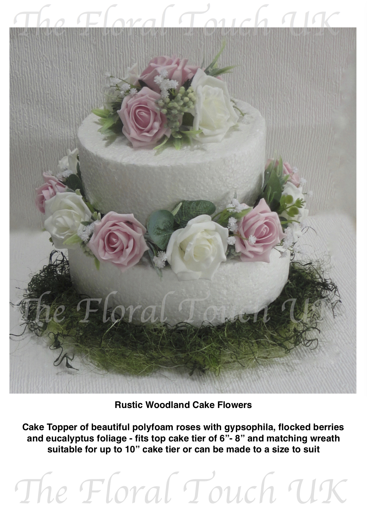 Cake Toppers The Floral Touch Uk Cake Tier Displays