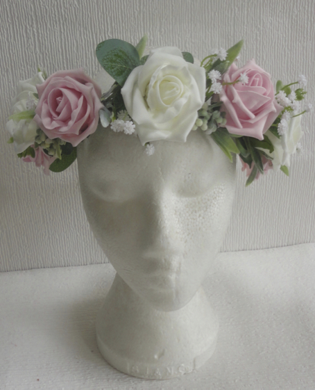 Floral Crown for Bride or Bridesmaid