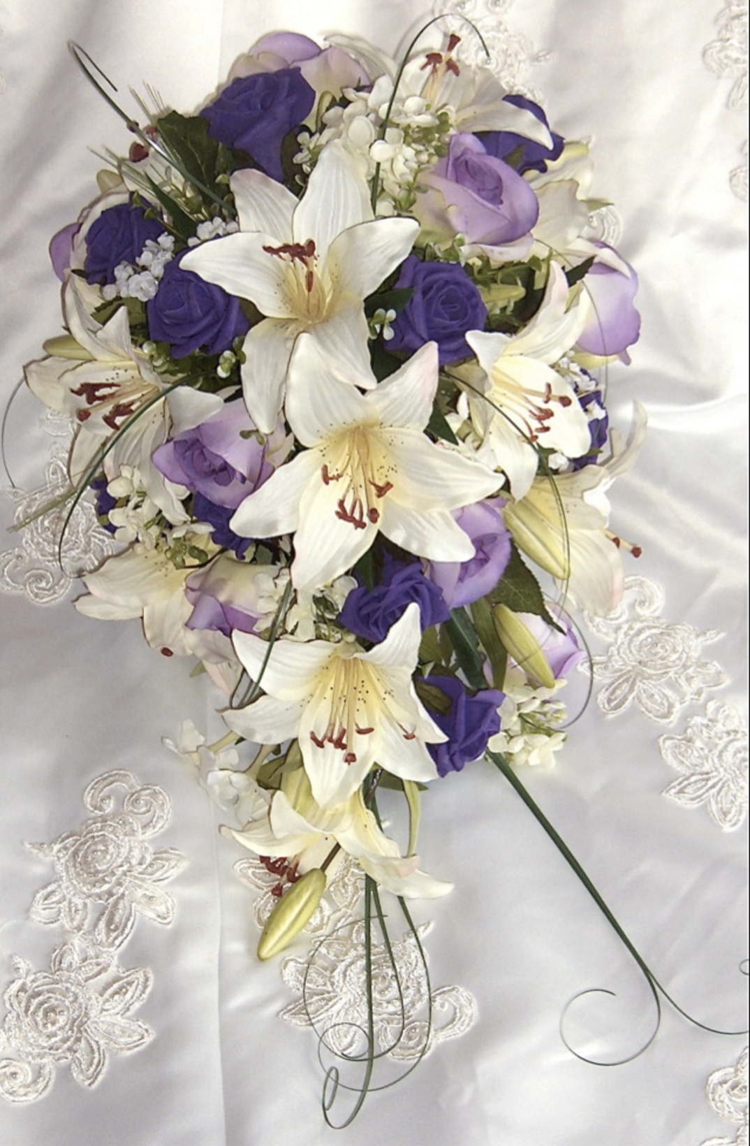 Bridal Shower Bouquets Teardrop Wedding Bouquets The Floral Touch Uk
