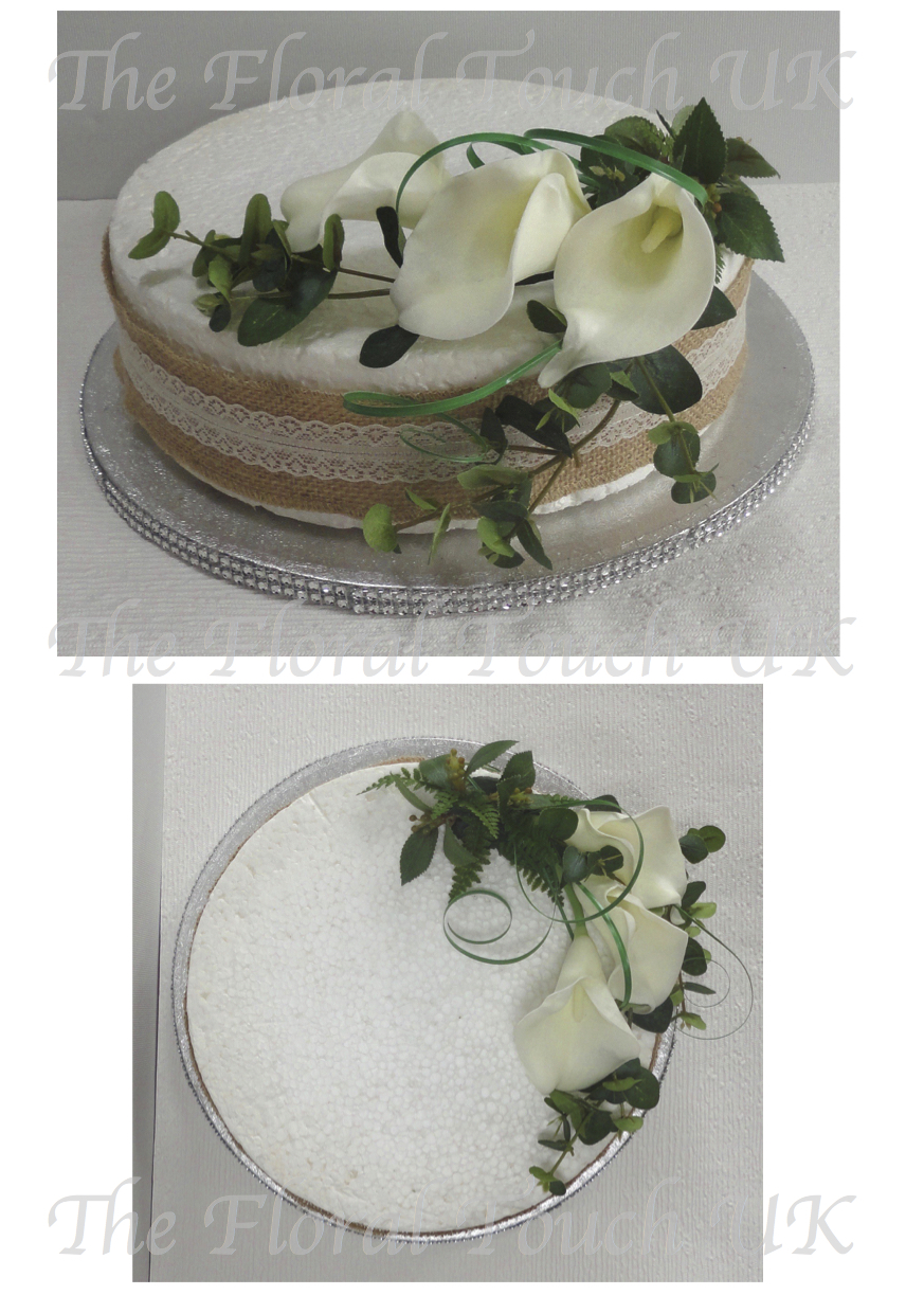 Real Touch Calla Lily Cake Topper