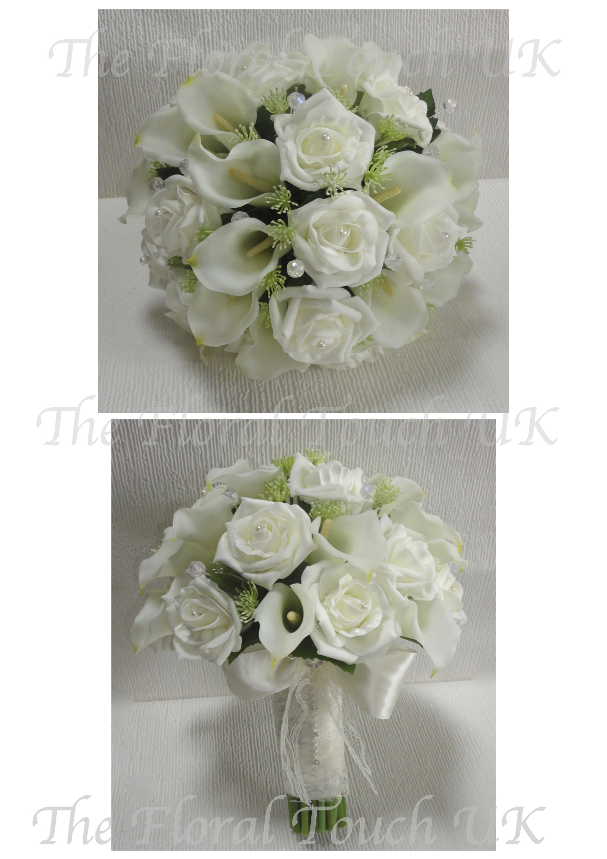 Natural touch flowers wedding bouquets flowers healthy ivory real touch calla lily lifelike rose wedding bouquet beautiful real touch calla liles with ivory izmirmasajfo