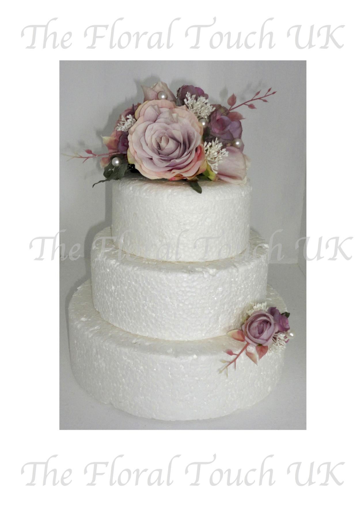 Artificial Cake Flowers