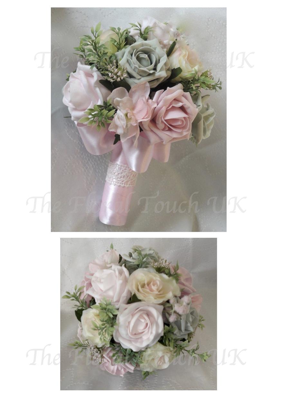 Flower girl bouquets posies for flower girls silk bouquets for vintage style flower girl posy izmirmasajfo