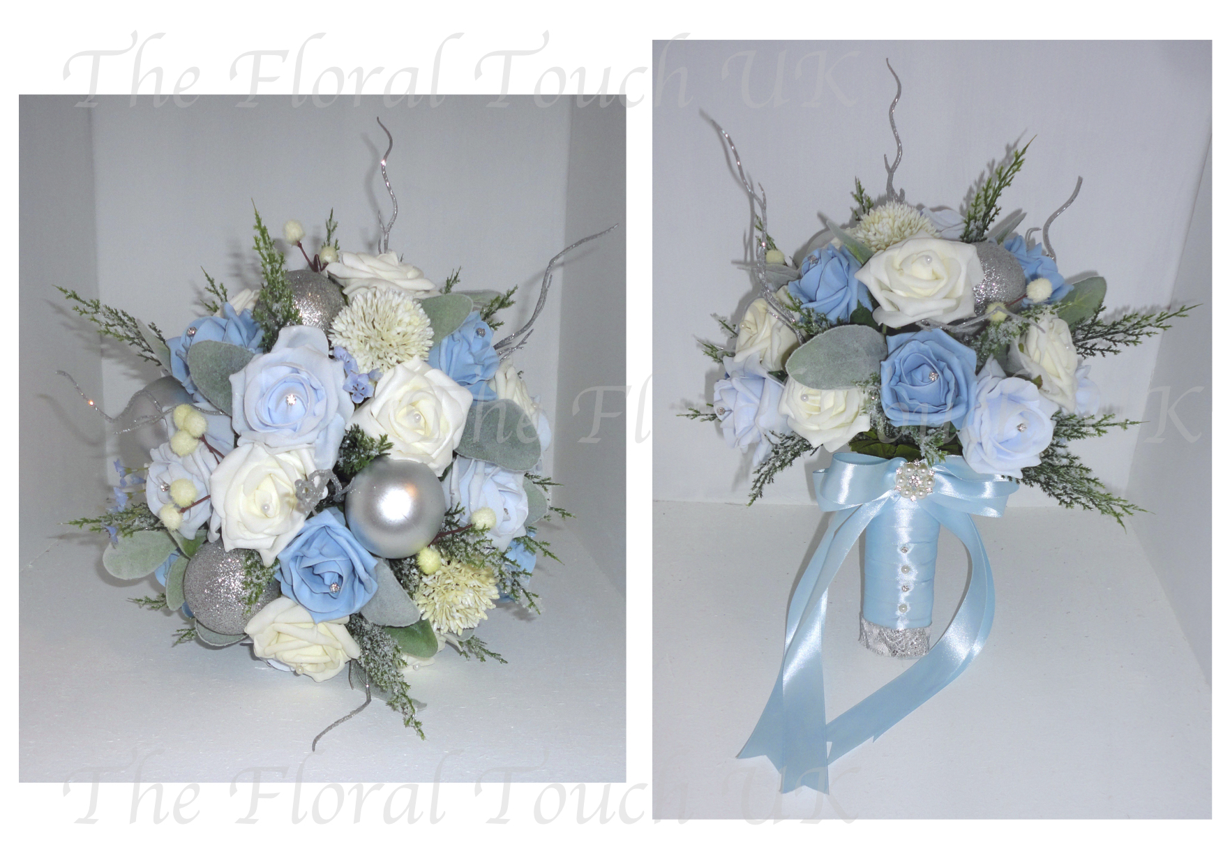 christmas  u0026 winter wedding bouquets