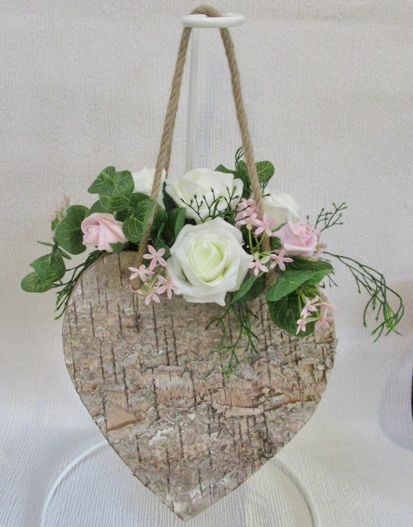 Bridesmaid Wooden Bark Hand Bag Arrangement