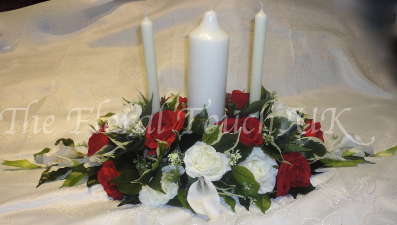 Unity Candle Arrangement